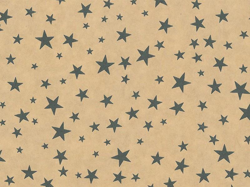 KP073.30 - Geschenkpapier op rol 30 cm Ster