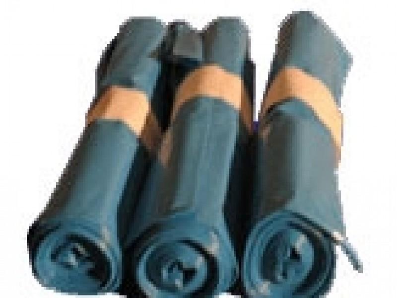 5382GRIJS - Afvalzakken 70 x 110 cm 140 liter