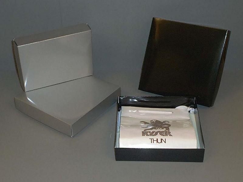 LD6-ZW-D - Deksel luxe doosjes Zwart