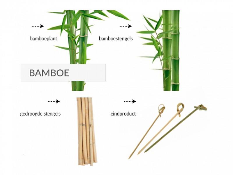 848.301 - Bamboe knoopprikkers 15 cm
