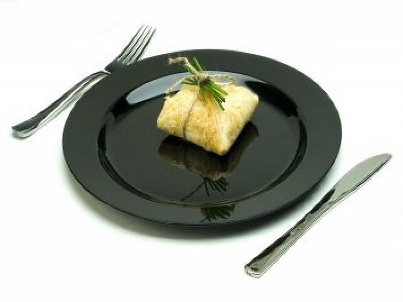 MOZ2320C10R - Ronde plastic borden Ø 23 cm