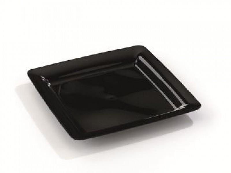 MOZ1820C10 - Vierkante plastic borden 18 x 18 cm