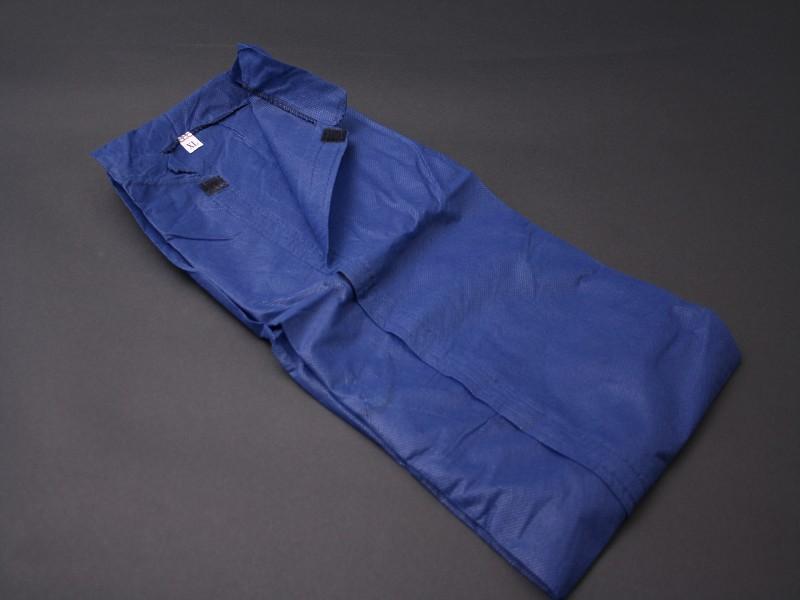 410054 - Overall XL Blauw Klitteband