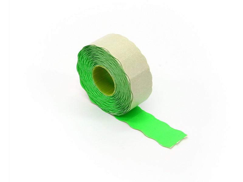 PEG2516 - Prijsetiketten 25 x 16 mm fluor groen permanent