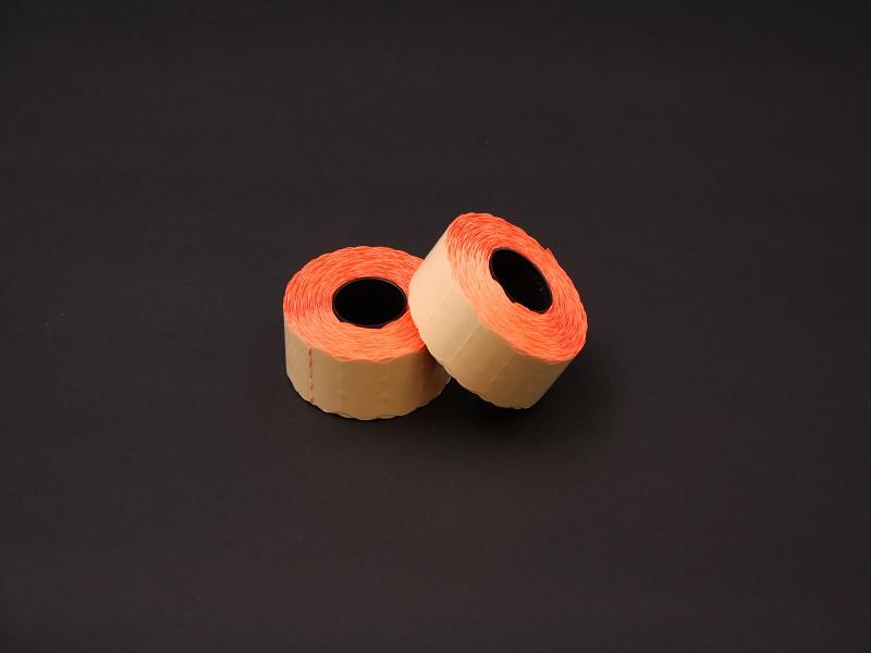PEF2616 - Prijsetiketten 26 x 16 mm Fluor Rood