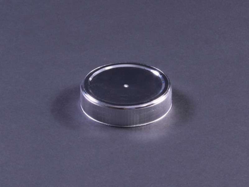 TO63ZILVER - Deksel 63 mm tbv pot 395 ml en 212 ml Zilver