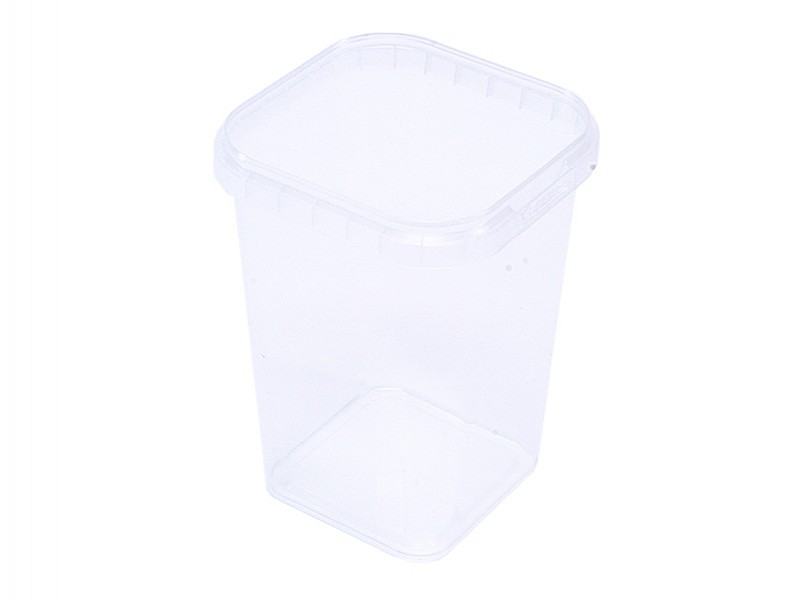 TPS79225 - Vierkant- afsluitbaar bakjezonder deksel 225 ml