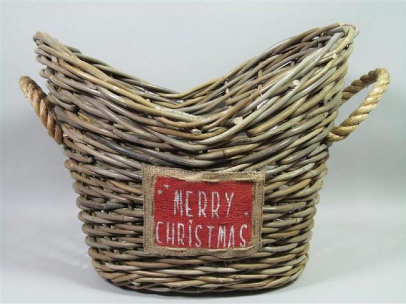 VB2462140 - Mand ovaal Merry Christmas