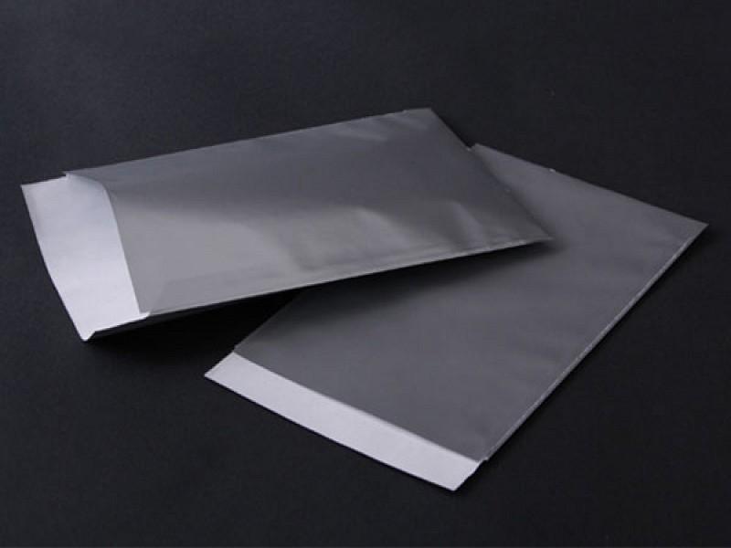 574.1016 - Vlakke luxe zakjes 10 x 16 cm Zilver