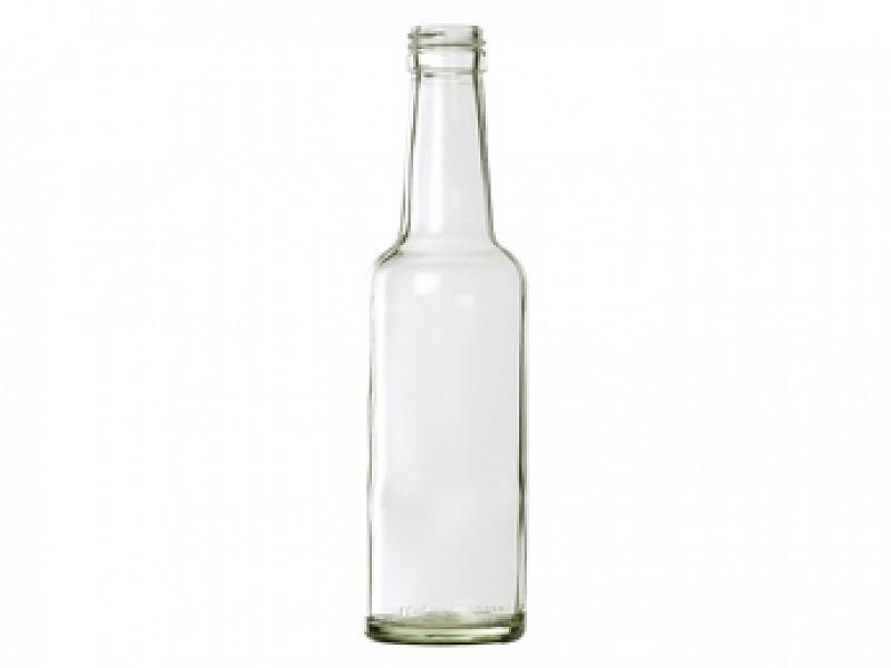 glazen fles 250ml rond