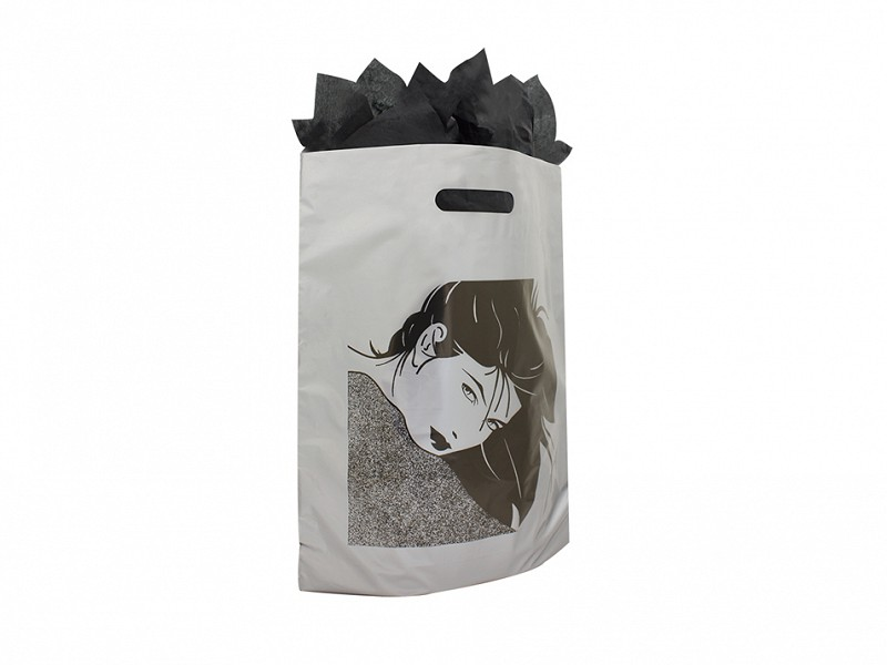 F0207 - Plastic draagtassen