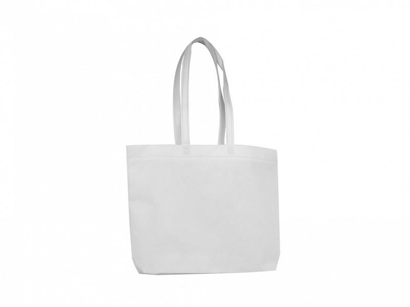 F0345 - Non Woven draagtas Wit