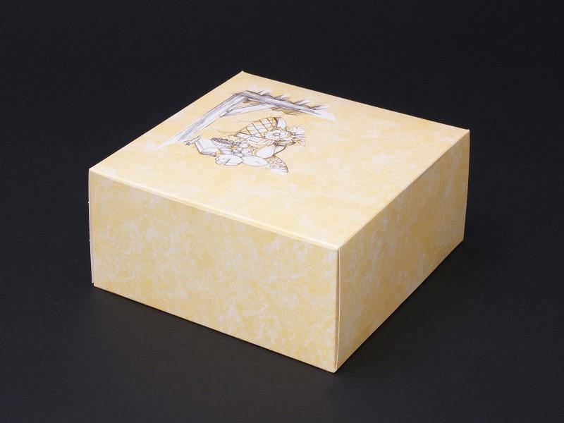 4088 - Gebaksdoos neutraal 19 x 19 x 8 cm