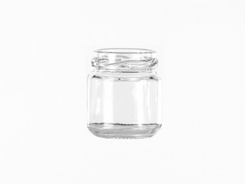 Ronde Glazen Pot.Glazen Pot 50ml Rond Verpakkingshop Nl
