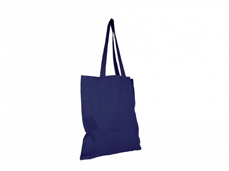 F0371 - Katoenen Draagtassen donker Blauw