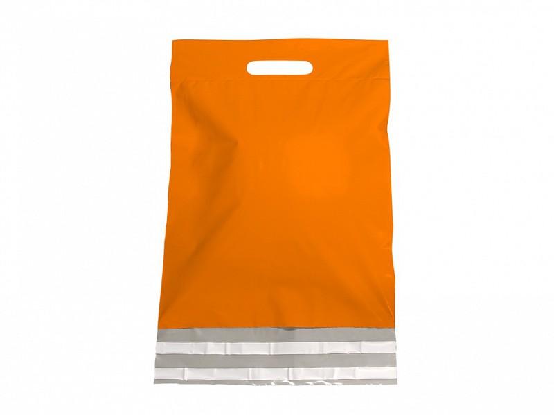 F0481 - LDPE coex verzendtassen 30 x 40 cm oranje