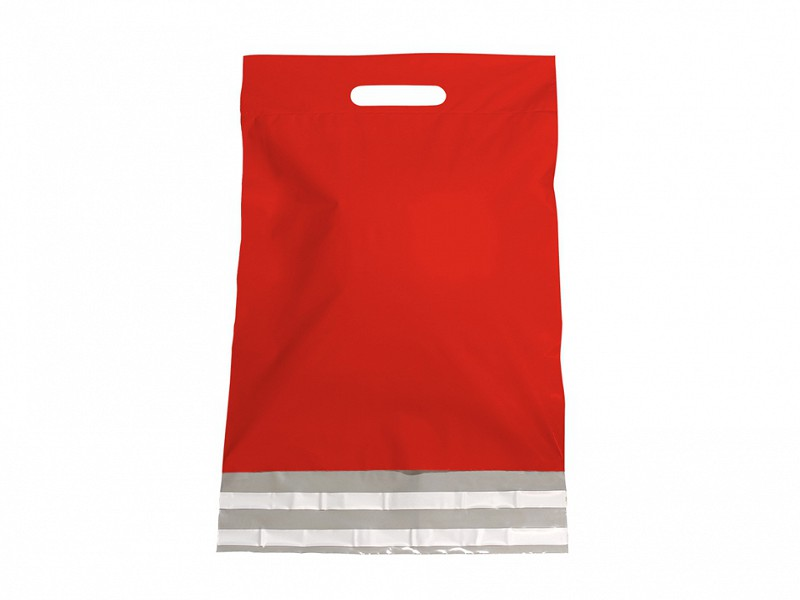 F0483 - LDPE coex verzendtassen 30 x 40 cm rood
