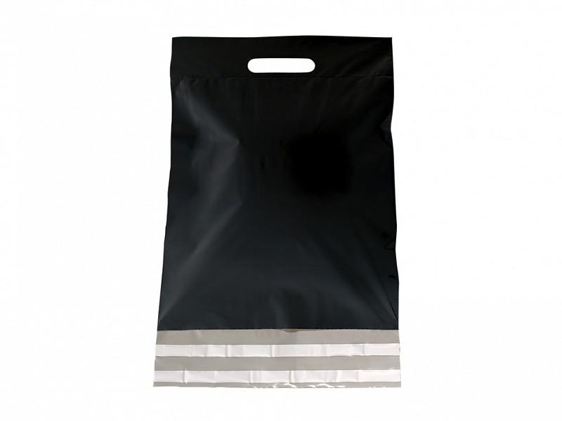 F0473 - LDPE coex verzendtassen 30 x 40 cm zwart