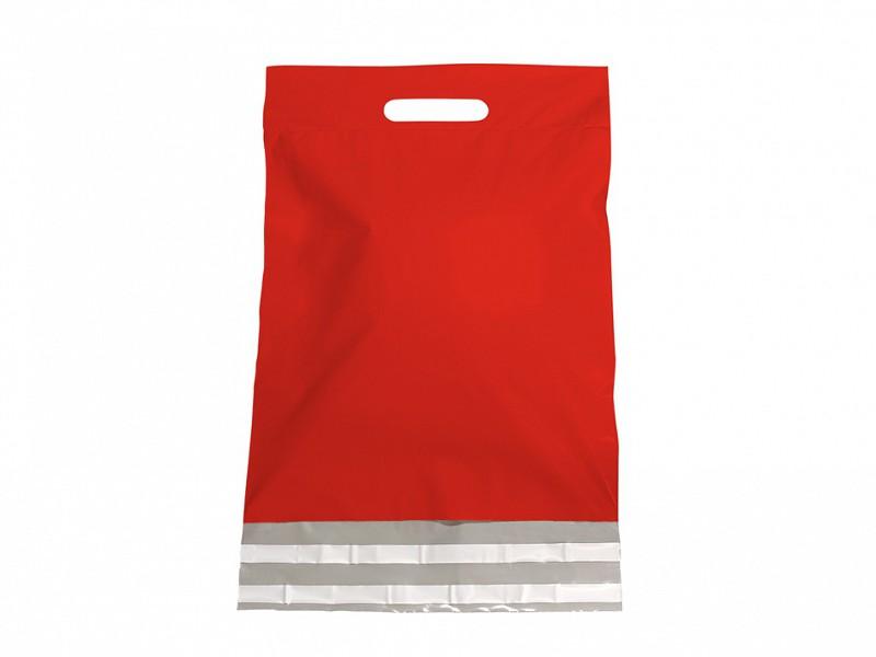 F0484 - LDPE coex verzendtassen 45 x 56 cm rood
