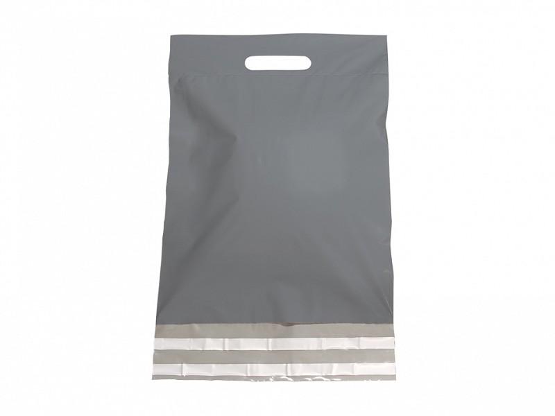 F0476 - LDPE coex verzendtassen 45 x 56 cm zilver